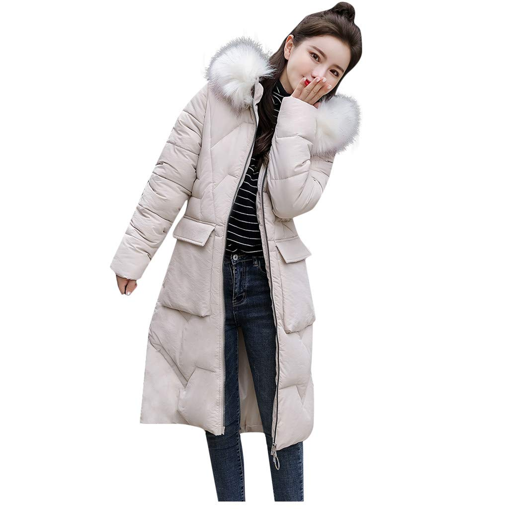 Bollysky Vogue Cozy Cardigan Jacket for Women Winter Warm Hooded Thick Faux Fur Warm Slim Jacket Long Overcoat Coat Fashion Trend Costumes by Bollysky