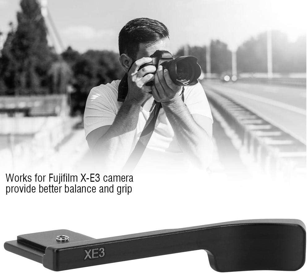 Black Camera Aluminum Alloy Thumb Up Hand Grip for Fujifilm X-E3 Serounder Thumb Grip