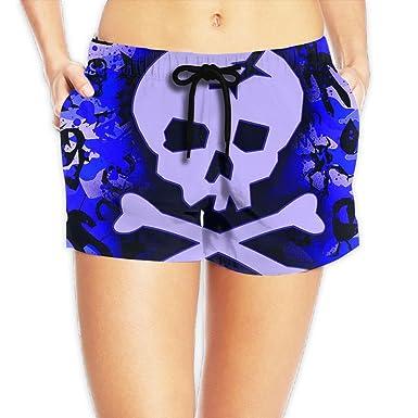 0dcb8b152a I Love Sugar Skull 2018 Fiery Quick Dry Beach Shorts Pants Lady at ...
