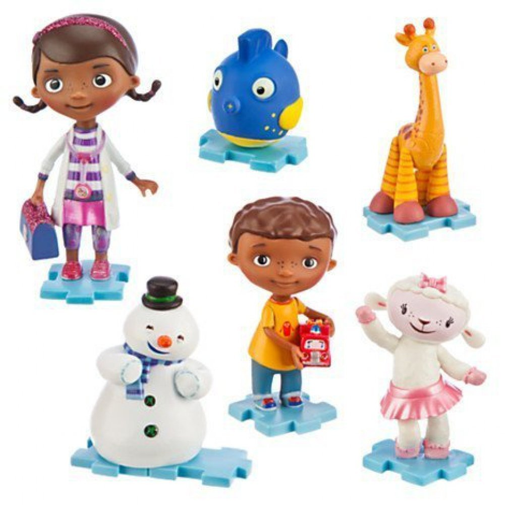1 X Disney Doc Mcstuffins Playset Figurine Set