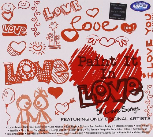 Paint it in Love MP3 CD