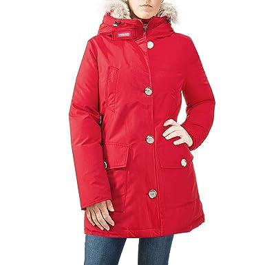 Woolrich - Chaqueta - para Mujer Rojo M: Amazon.es: Ropa y ...