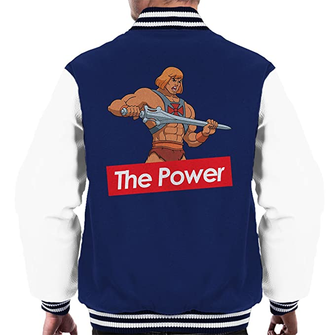 Supreme He Man The Power Masters Of The Universe Mens Varsity Jacket