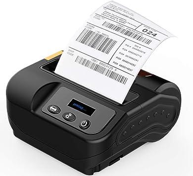 LLC - POWER Impresora térmica de Recibos de 80 mm Bluetooth + USB ...