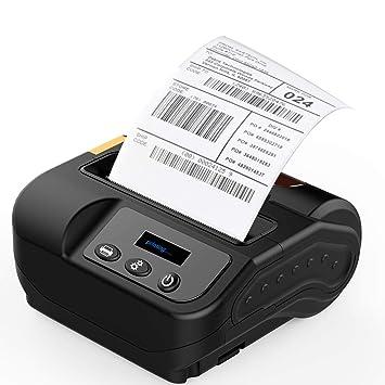 LLC - POWER Impresora térmica de Recibos de 80 mm Bluetooth ...