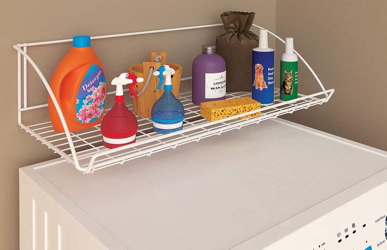ClosetMaid 8279 24-Inch Wide Laundry Utility Hanger Shelf