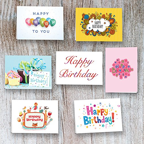 40 Birthday Cards Assortment