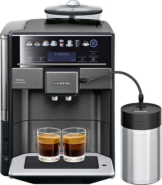 Siemens TE657F09DE - Cafetera (Independiente, Máquina espresso, 1 ...