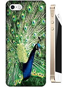 Peafowl Spead Tail Feathers Bird New style design cell phone cases for Apple Accessories iPhone 5C