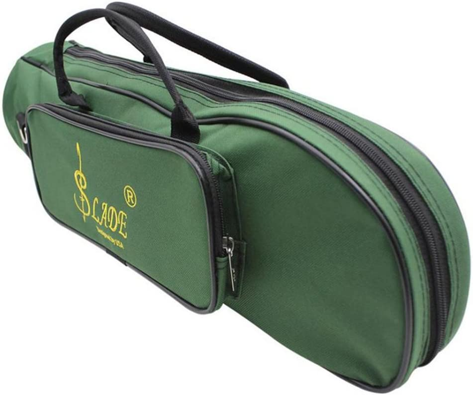 Trumpet Soft Case Gig Bag Padded Water Resistant 600D Oxford Cloth Green New