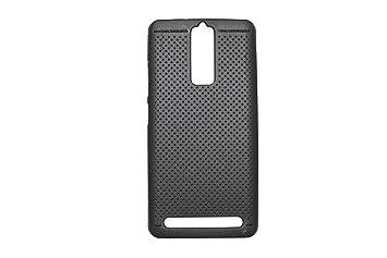 RVDP Premium Dotted Design Soft Rubberised Back Cover For Lenovo Vibe K5 Note