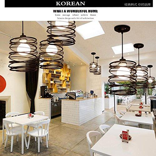Eleganantamazing - Caja de Metal para lámpara de araña con muelles en Espiral, Alambre Industrial, Soporte para lámpara de...