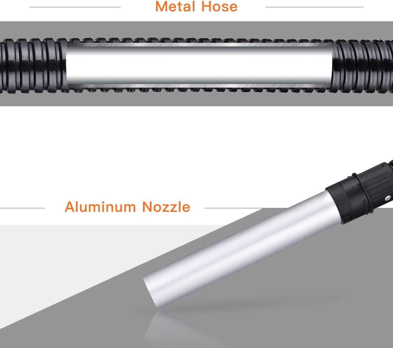 Ash Vacuum Cleaner TACKLIFE 800W 120V 5Gal 3.3 ft Hose+7.9in Tube Debris//Ash Collector PVC03A