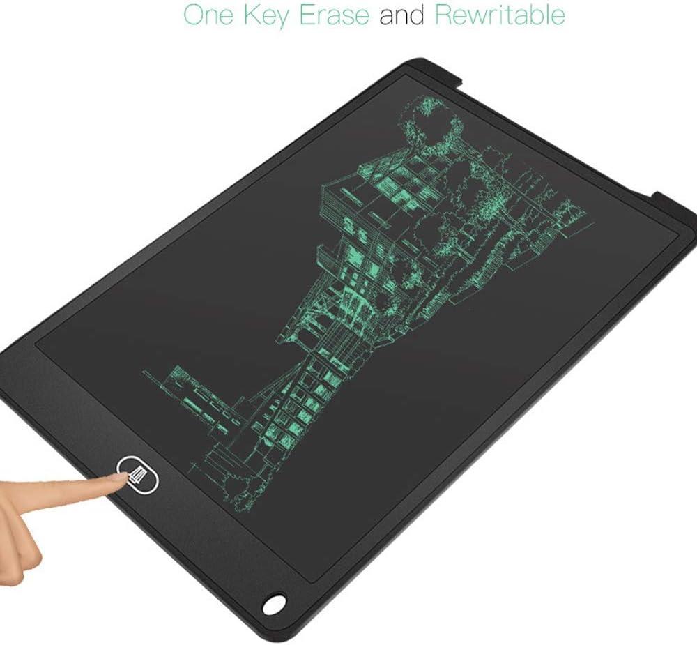 Moerc 12 LCD tablette /écritoire dessin num/érique Tablette Handwriting Tapis Portable Conseil tablette /électronique ultra-mince avec un stylo Conseil d/écriture avec Doodle Pad Memo portable for les e