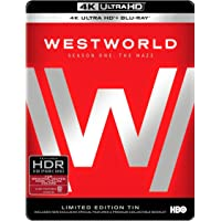 Westworld: The Complete First Season 4K Ultra HD (Limited Edition) [Blu-ray]