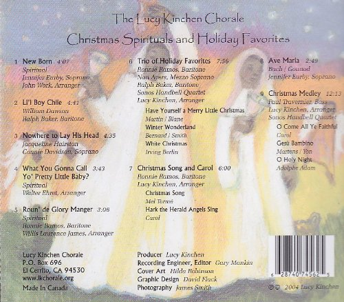 Christmas Spirituals and Holiday Favorites - A Live Performance by
