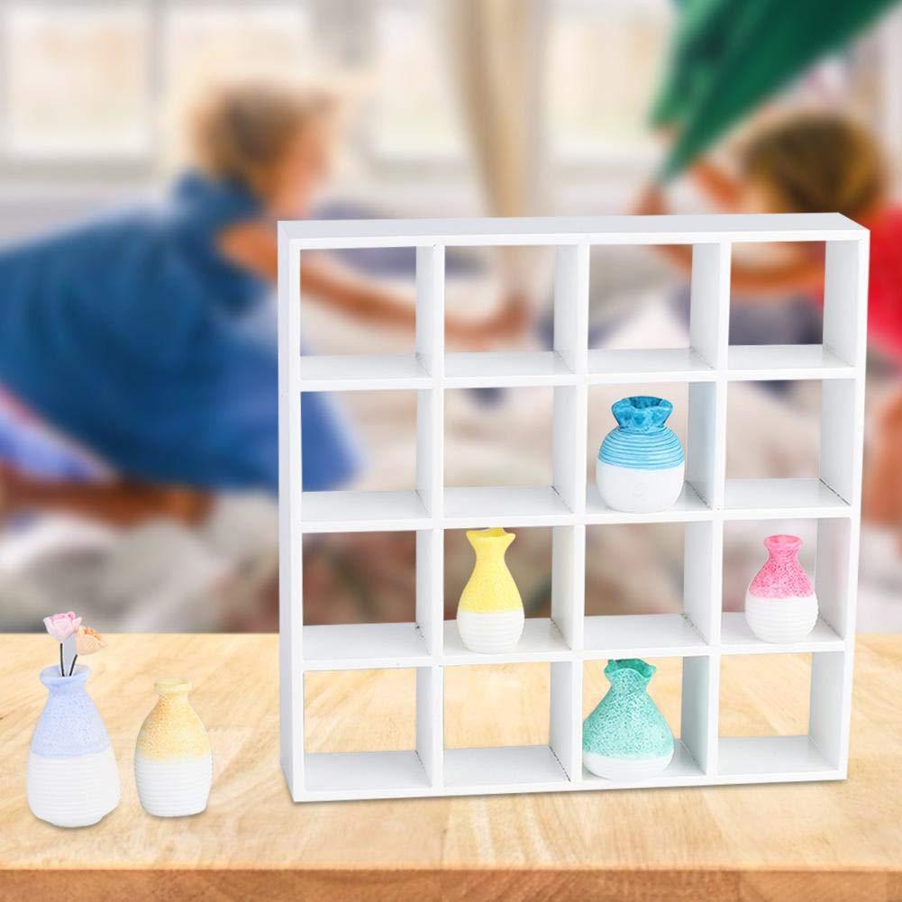 Mootea Scaffale per la casa delle Bambole Scaffale per Le Bambole casa delle Bambole 1//12 Accessorio per la casa delle Bambole in Miniatura