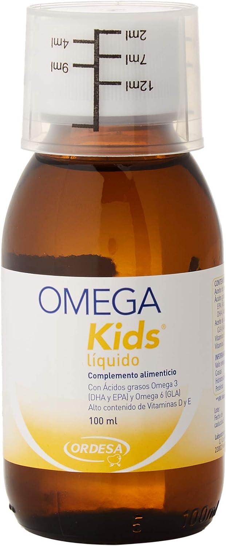 Ordesa Omegakids Liquido - 100 ml - El Omega-3 para tus hijos, 4ml al día.: Amazon.es: Salud y cuidado personal