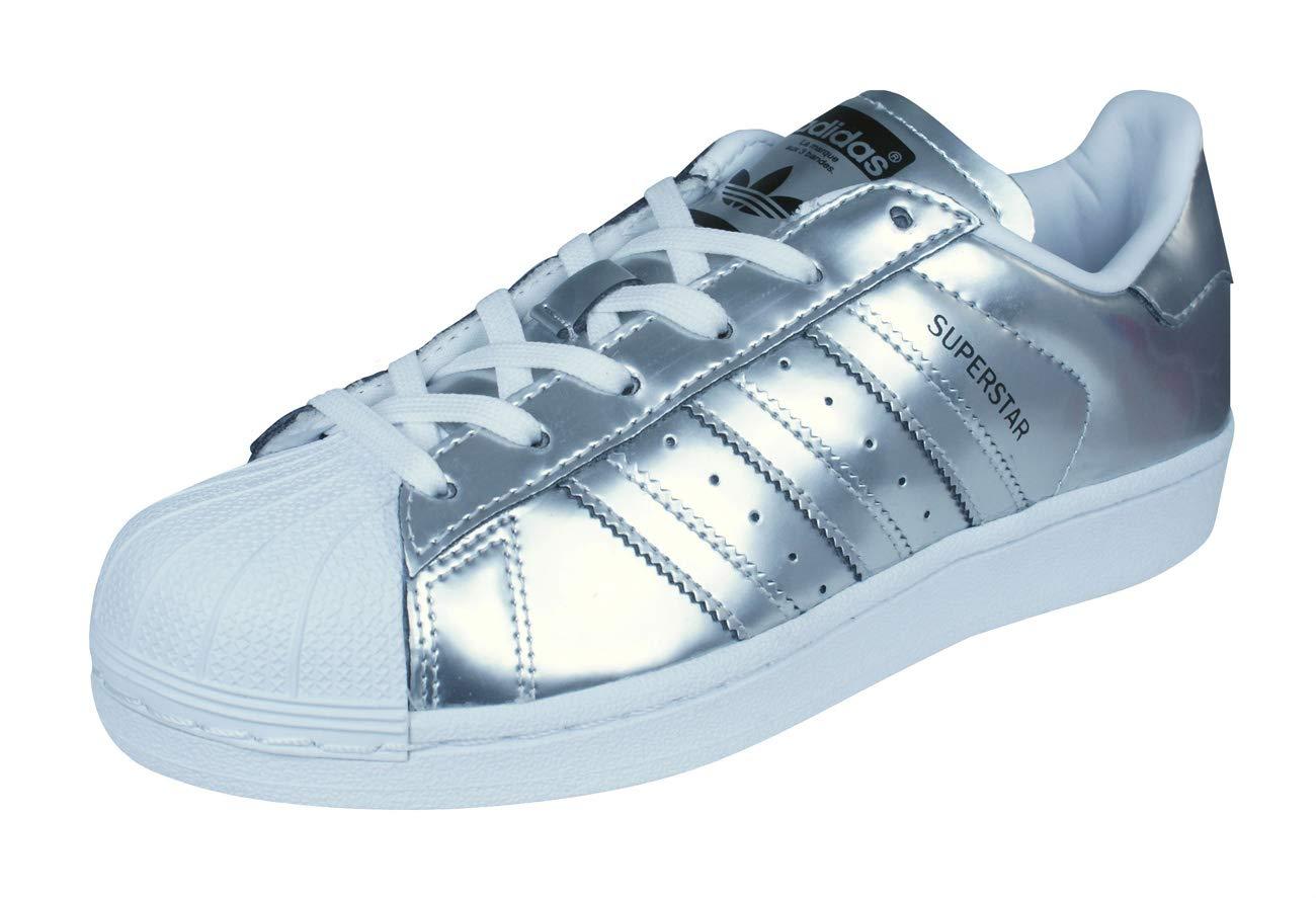 Adidas Damen Superstar cg3681 Trainer Einheitsgröße Silber weiß