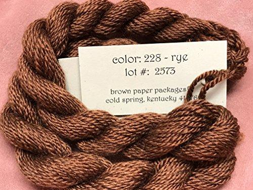 Rye Silk - SILK & IVORY-RYE-228-1 SKEINS WITH THIS LISTING