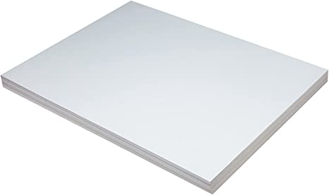 Pacon 5220 Heavyweight Tagboard 24 x 18 White 100//Pack