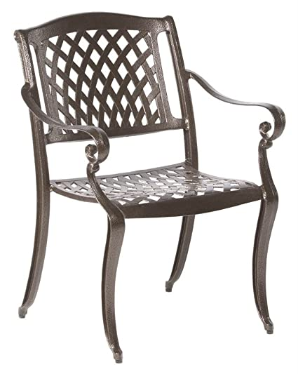 Delicieux Alfresco Home 56 1308 Westbury Cast Aluminum Dining Chairs, Set Of 4