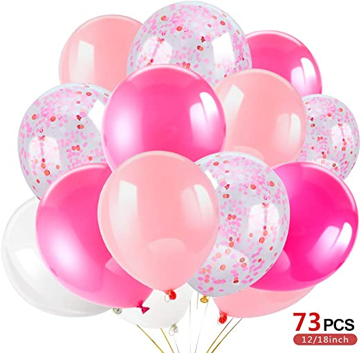 12 Happy 60th Birthday Pink,Lilac,White Helium Balloons,Party,Venue Decorations