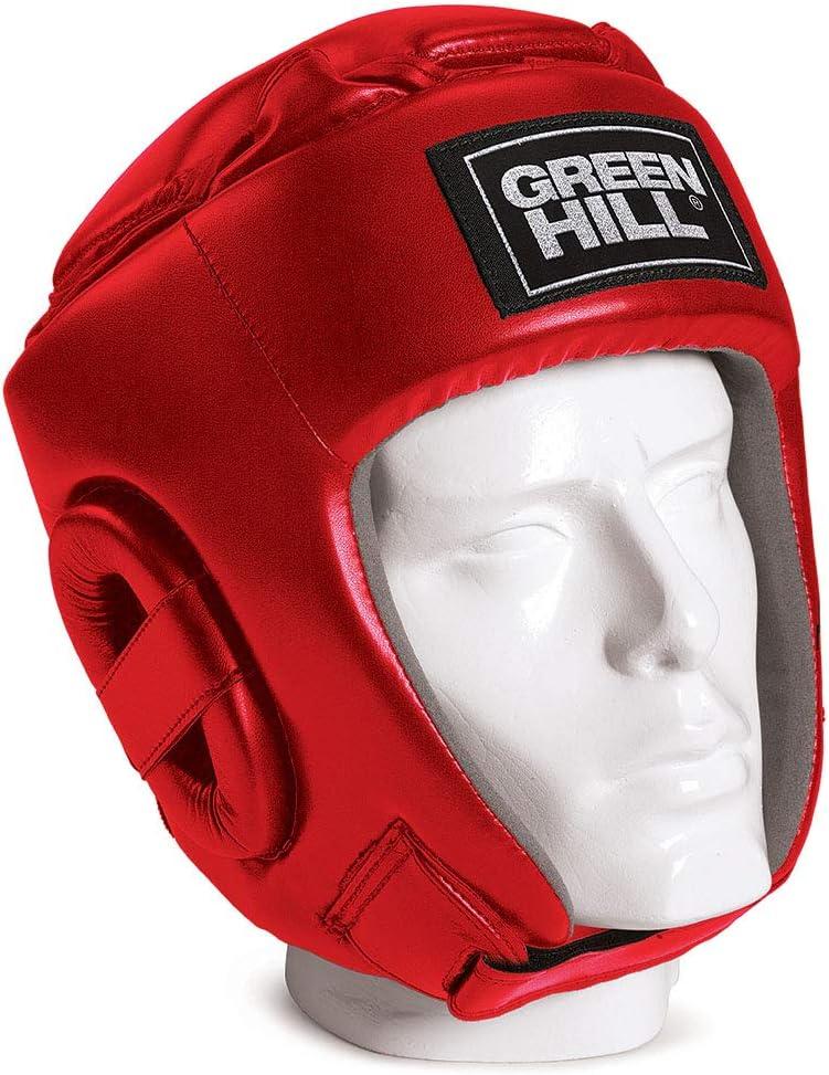Casco de Kick Boxing Unisex-Adulto GREEN HILL Glory
