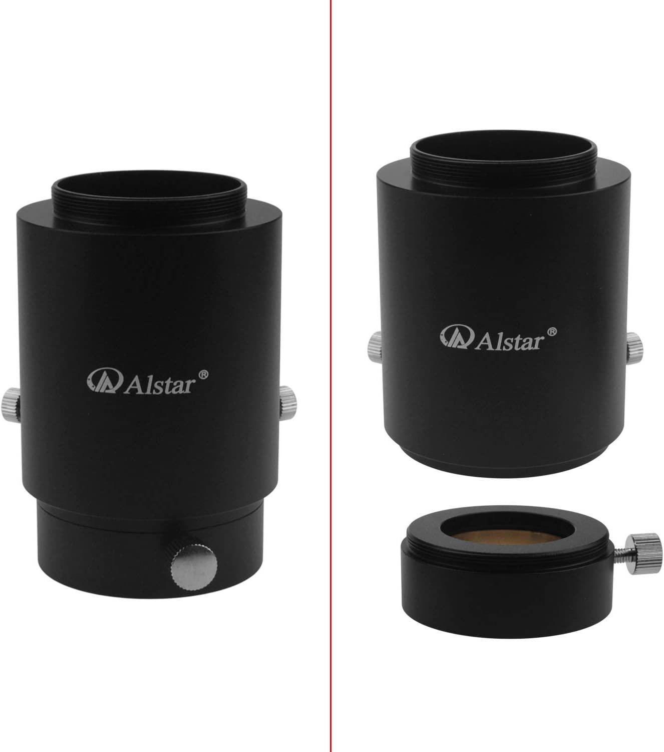 Alstar 2 Adjustable Extention Tube Camera Adapter Adjustable Length Adapter Lets You Attach A T-Ring Equipped DSLR Or SLR Camera Directly to Your Telescope