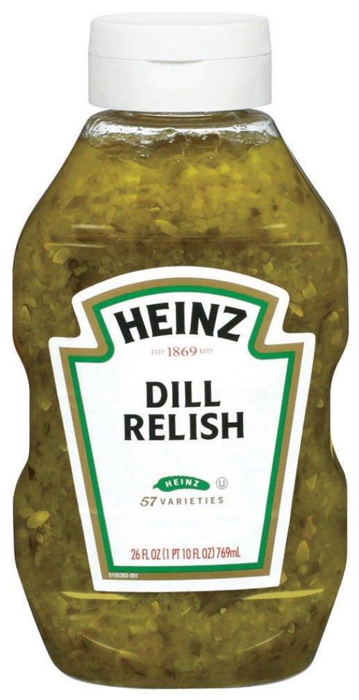 Heinz Dill Relish, 26 Ounce