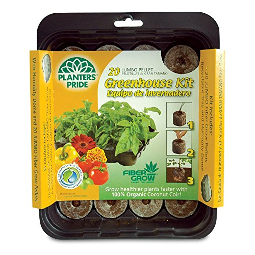 Planters Pride RZG0020 20 Grow Pellets Greenhouse Kit