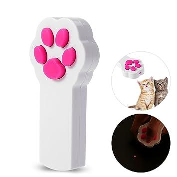 Ueetek Puntero led para gato con diseño de pata: Amazon.es: Productos para mascotas