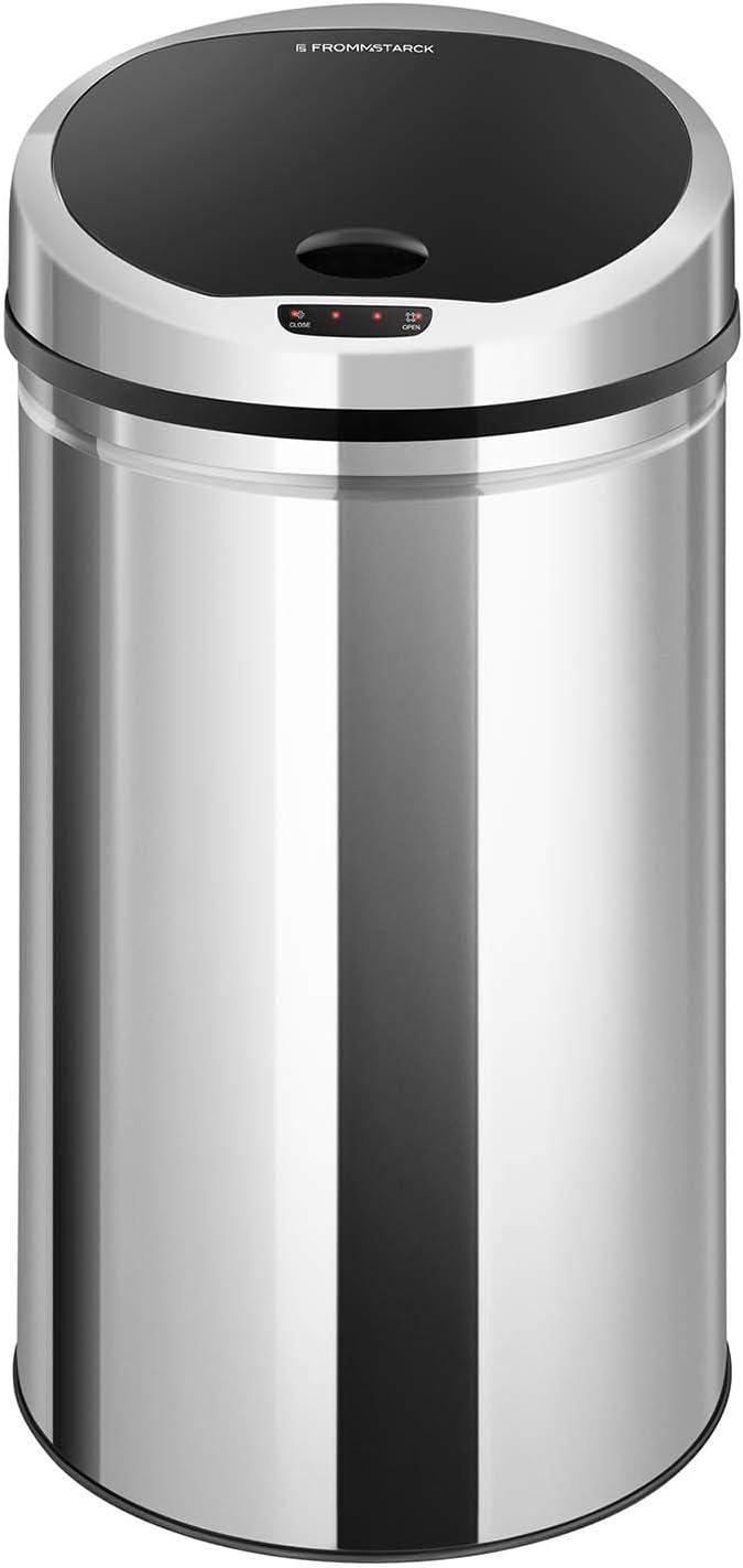Volumen De 30 Litros Redondo Cubo Extraíble Funcionamiento A Pilas Fromm Starck Cubo De Basura Con Sensor Papelera Automática Star Bin 01 Cubos De Basura Para La Cocina Hogar Y Cocina Profiles365 Com