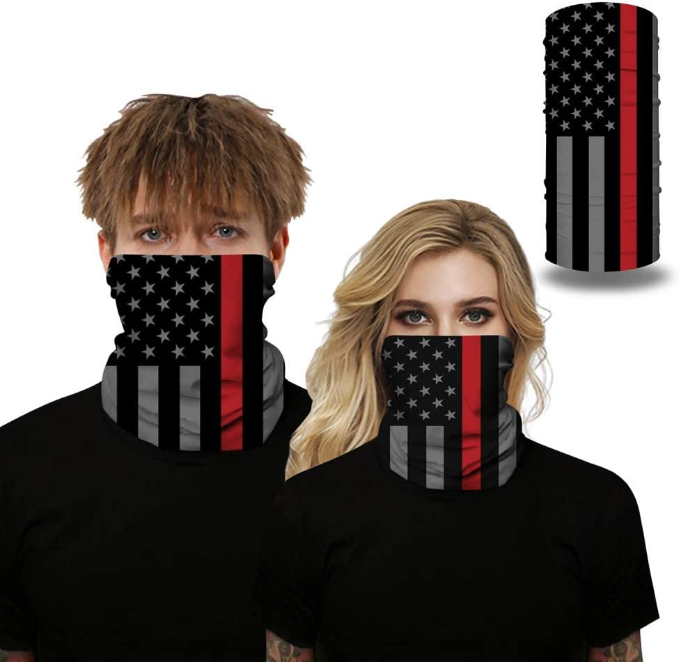 Flag Printing Summer Face Scarf Sun UV Protection Neck Gaiter//Dust Wind Bandana Balaclava Headwear for Running Hiking Fishing