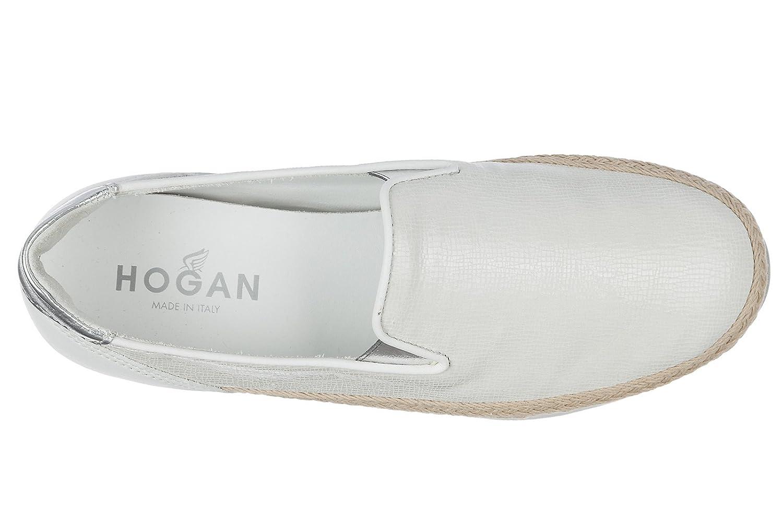 Donna in 36 Bianco HXW2220X350FQR0351 h222 Slip On 5 Sneakers EU Nuove Originali Hogan Pelle wxpEgfnq