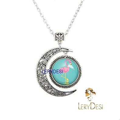 00fceeaceb1aa Amazon.com: LERYDESI Flamingo Jewelry Set Flamingo Bracelet Flamingo ...