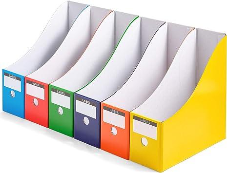 HEELPPO Brochure Stand Magazine File Organizer Plastic File Organizer Desktop Storage Box Letter Tray Magazine Holder Suitable For Classified Ads Books 1pc