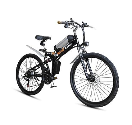GTYW, Eléctrico, Plegable, Bicicleta, Montaña, Ciclomotor Adulto, Coche Eléctrico De