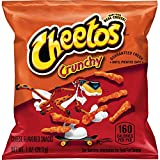 Cheetos Crunchy Cheese Flavored Snacks, 1 Ounce (Pack of 40)