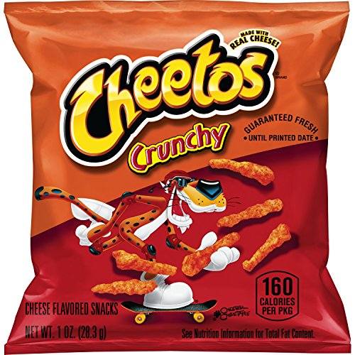 Cheetos Crunchy Cheese Flavored Snacks, 1 Ounce (Pack of 40)]()