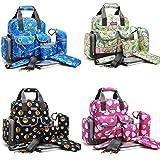 Premium Nappy Bags Waterproof Double Layers Mummy Handbag Backpacks