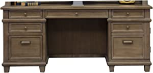 Martin Furniture Credenza, Weathered Dove