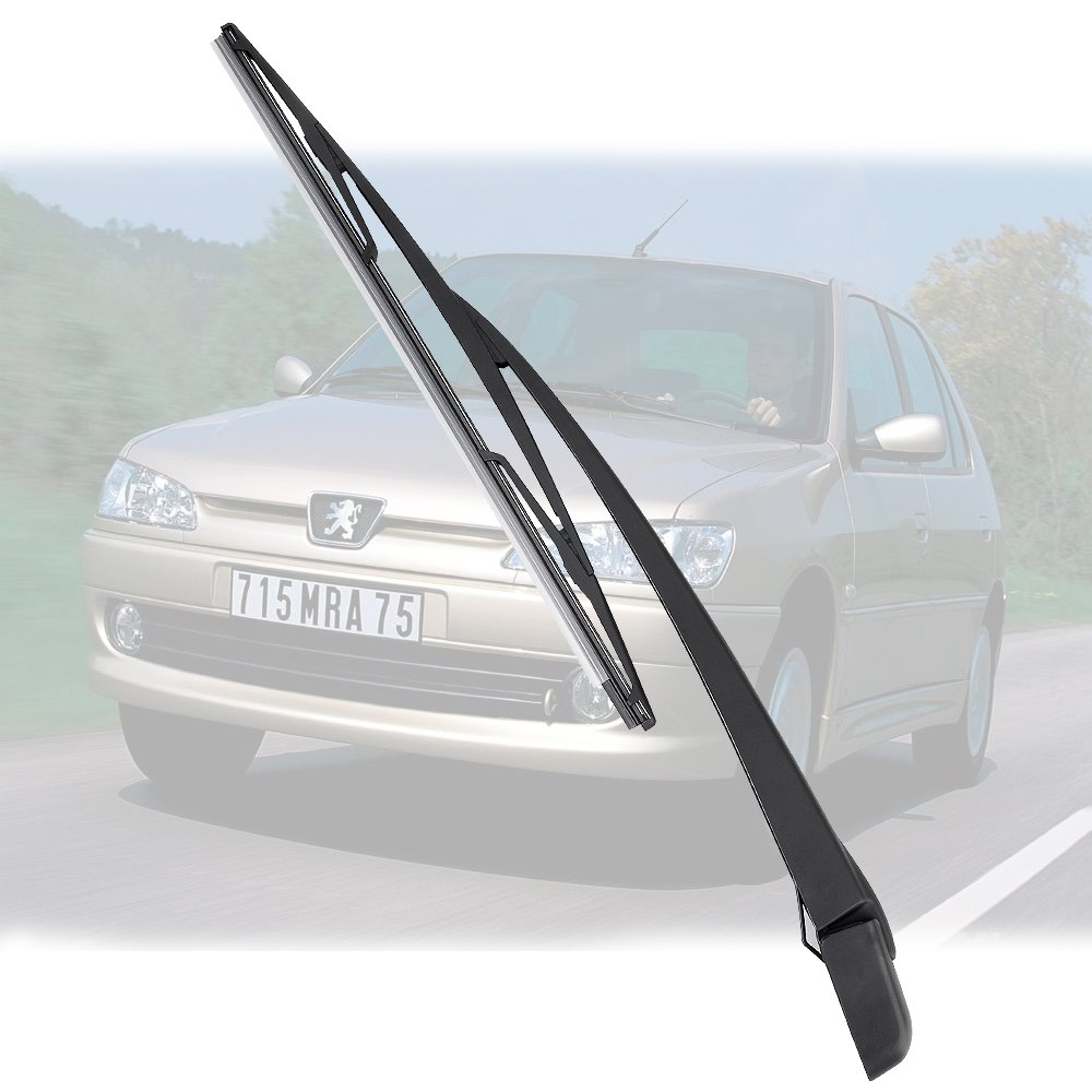 Limpiaparabrisas Hoja Brazo Traseras Para Peugeot 306 Hatchback 1999 ...