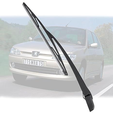 Limpiaparabrisas Hoja Brazo Traseras Para Peugeot 306 Hatchback 1999-2001