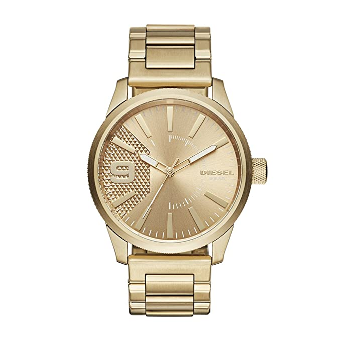 9a41574f39d4 DIESEL Rasp - Reloj de pulsera  Diesel  Amazon.es  Relojes