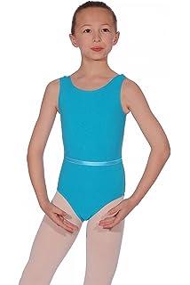 5ec85c9e1 Emily Leotard Lycra Med Blue Size 3A  Amazon.co.uk  Clothing