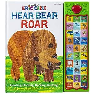 World of Eric Carle, Hear Bear Roar 30 Animal Sound Book – PI Kids (Play-A-Sound)