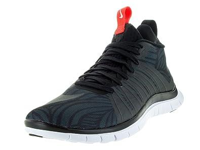 Nike Men's Free Hypervenom 2 FC Training Shoe Black/White/Ttl Crimson