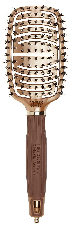 Olivia Garden NanoThermic Ceramic + Ion Flex Scalp-Hugging & Vented Hair Brush