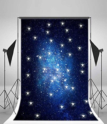 Photography Backdrops 5x7ft Vinyl HD Night Starry Sky Child Photo Backgrounds Studio Props